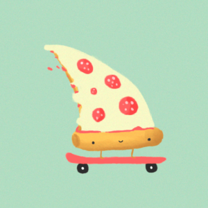 Illustration animation gif