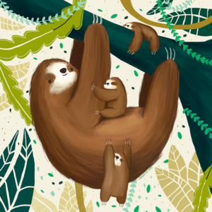 The sloth sitter