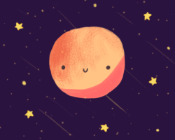 Tired but happy Mars
