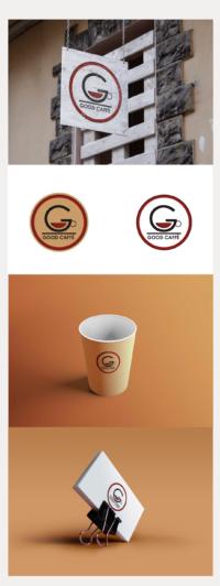 Logo design per la caffetteria Good caffè.